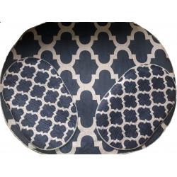 Набор ковриков для ванной Velvet 120*150 см и 50*80см (2шт)